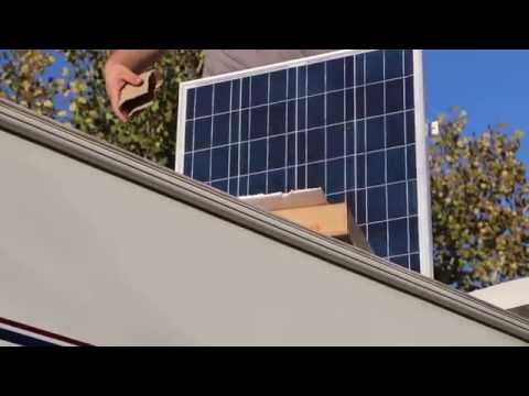 Installing Windy Nation Solar on RV  YouTube