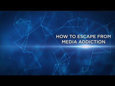 Joshua White: How To Escape From Media Addiction