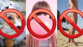 SAKIZ ÇİĞNEMEK YASAK | Ülkelerdeki İlginç Yasaklar