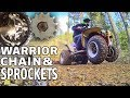 YAMAHA WARRIOR ATV CHAIN AND SPROCKET REPLACEMENT - BASIC QUAD MAINTENANCE