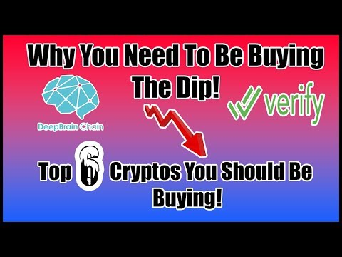 Why You Should Be Looking At Crypto NOW! Top Coins To Buy During The Dip 2018