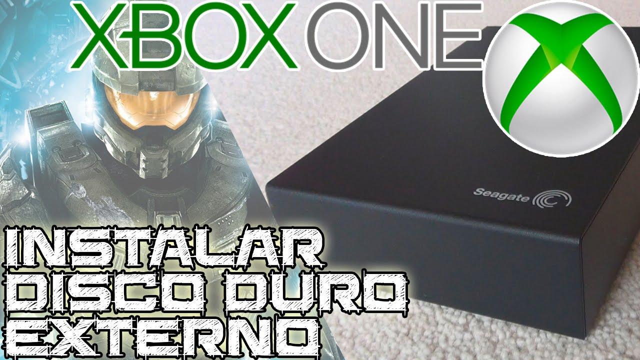 Instalar un disco duro externo en xbox one youtube for Ssd esterno xbox one