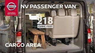 Nissan NV Passenger Van Cargo Space