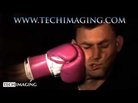 High Speed Camera Video - Boxer punch