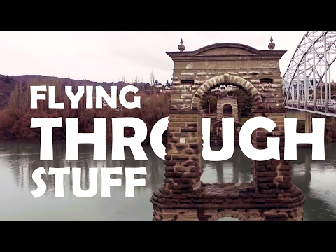Ken Heron – Drones Flying THROUGH Stuff Compilation