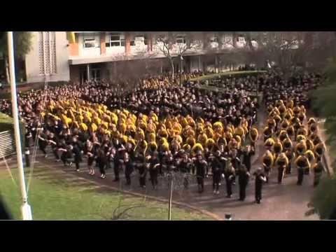 abbotsleigh 125th birthday flash mob youtube