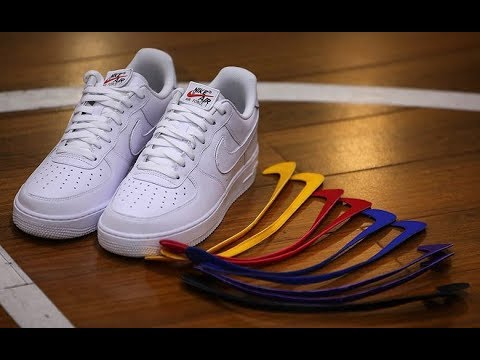best loved 4e96b c30ee Nike Air Force 1  07 QS Swoosh Pack White ALL STAR