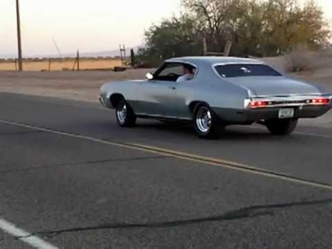 1970 Buick Skylark 462 burnout - YouTube