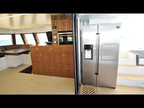 Solarwave 64 Catamaran Luxury Solar Yacht Interior