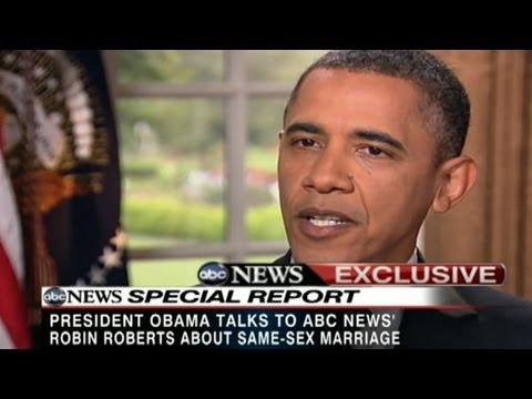 obamas position on gay marriage