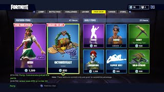 "NEW ""LUDWIG"" SKIN AND ITEM SHOP IN FORTNITE BATTLE ROYALE"