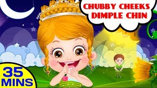 Chubby Cheeks Dimple Chin | Baby Hazel Poems, Kids Songs and Nursery Rhymes thumbnail