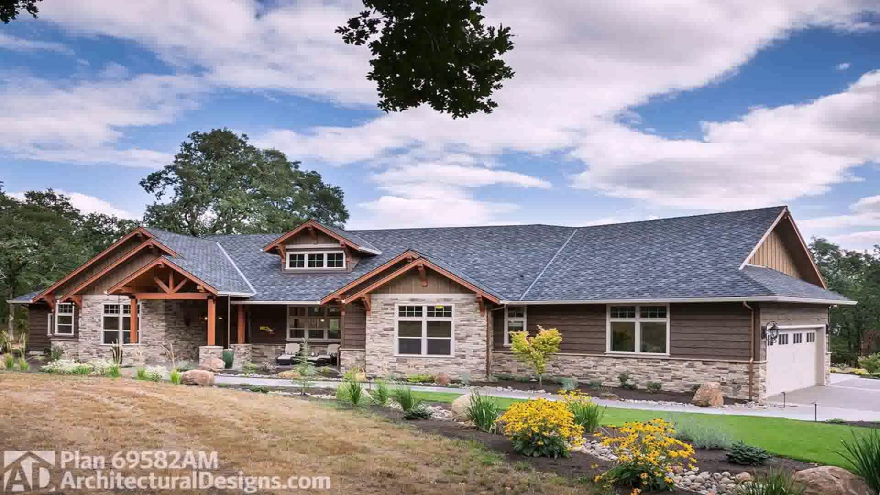 Ranch style house vs rambler youtube for Rambler style homes