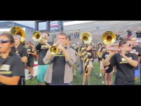 University of Idaho and WSU Marching Band: Battle of the Palouse Rehearsal