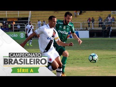 Melhores Momentos - Gols de Vasco 1 x 1 Palmeiras - Campeonato Brasileiro (13/08/2017)