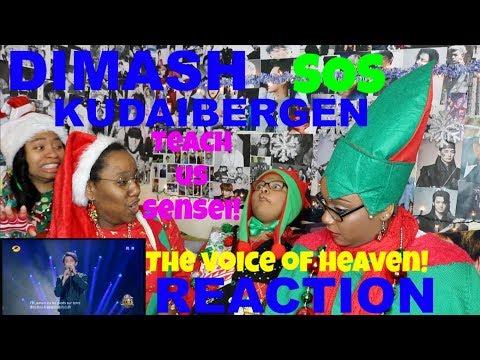 DIMASH KUDAIBERGEN SOS REACTION [VOICE 101 ANYONE?]
