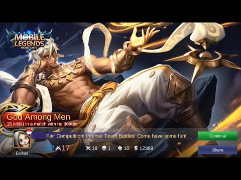 VALE God Among Men Legendary Gameplay (Forgotten Hero) - Mobile Legends
