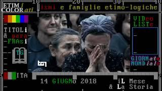 §.2/- Eccidio di Sant'Anna di Stazzema - 12 agosto 1944 - dal TG1 14 GIUGNO 2018