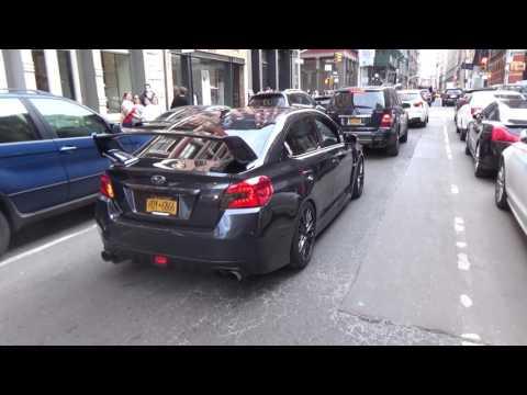 Insanely Loud Subaru WRX STI Terrorizes Soho!