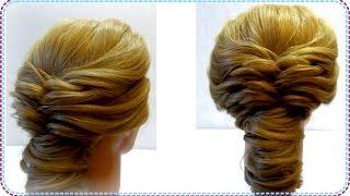 Повседневная прическа.  Прическа на каждый день. Daily hairstyle(Прически на все случаи жизни http://www.youtube.com/user/LiliaLady777 Предлагаю вам коллекцию оригинальных и красивых причес..., 2014-09-24T06:05:22.000Z)
