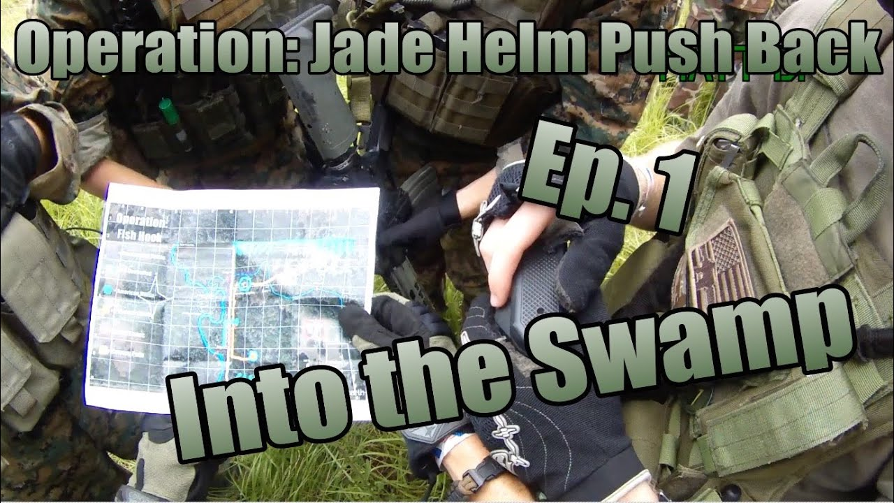 MilSim Operation: Jade Helm Push Back - Ep 1: Into the Swamp