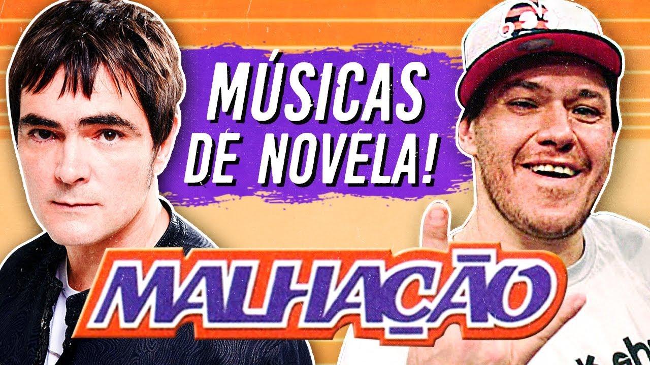 5 Músicas de NOVELA que TODO MUNDO LEMBRA! ???? ???? (ft. Skank)
