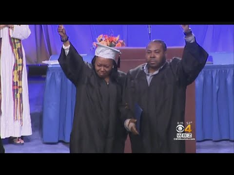 Salem State Presents Diploma To Parents Of Murder Victim