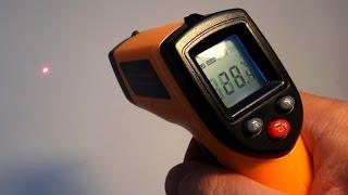 Бесконтактный инфракрасный термометр из Китая