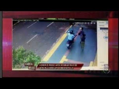 Homem é preso após roubar sete mulheres em Rondonópolis