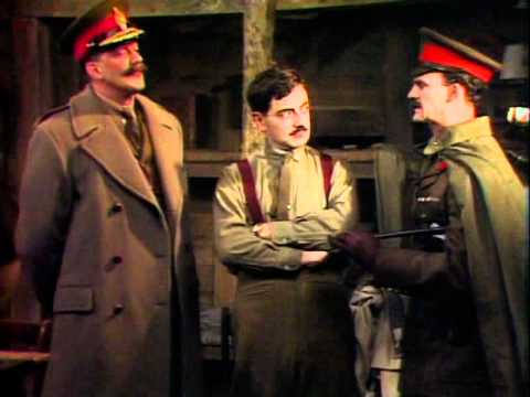 Blackadder Goes Forth : Blackadder gone crazy