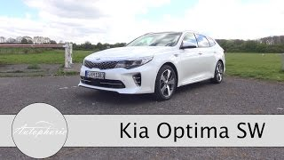 2017 Kia Optima SW 1.7 CRDi DCT Fahrbericht / Mittelklasse-Kombi im Sport-Look - Autophorie