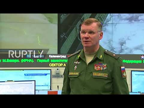 Russia: Russian air strike hits IS targets in Syria