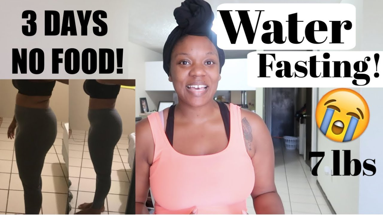 3 DAYS OF NO FOOD JUST WATER RESULTS! | Side effects, emotional  etc   Vlogmas