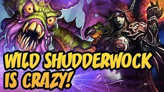 Hearthstone: Wild Shudderwock Is Crazy!