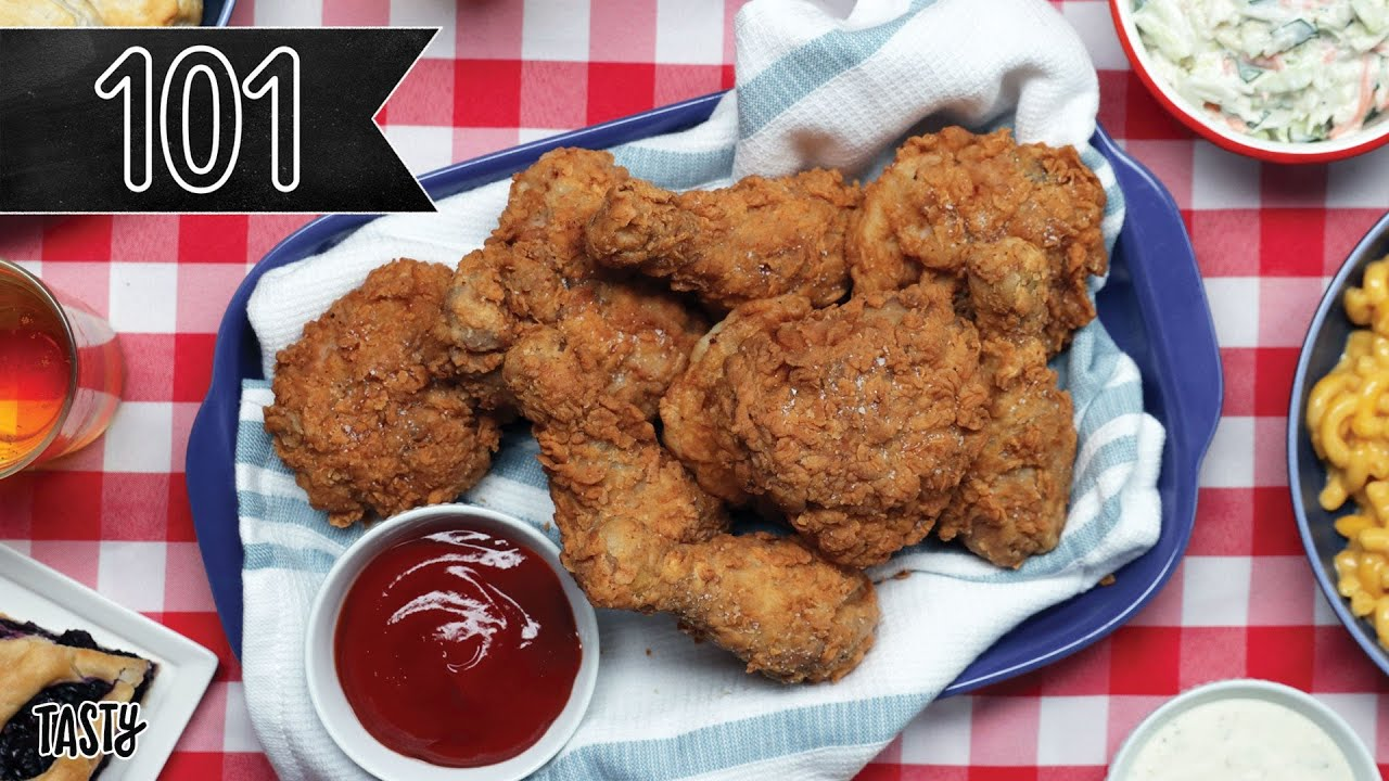 How To Make The Crispiest Fried Chicken You'll Ever Eat • Tasty