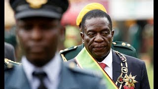 The 'Crocodile' sworn in as Zimbabwe's new president