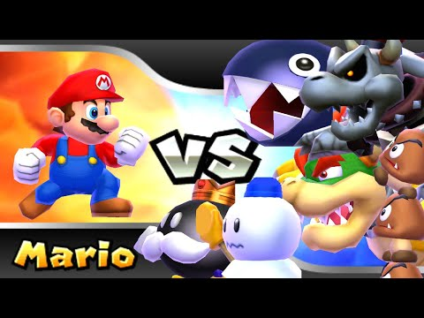 Mario Party Island Tour HD - All Bosses