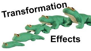 Stop Motion Tutorial: Transformations