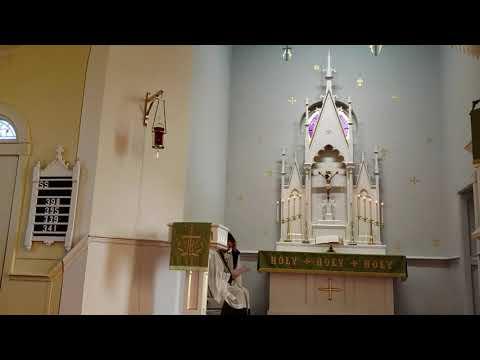 Lutheran Central School Chapel: the 8th Commandment.  LSB p. 235