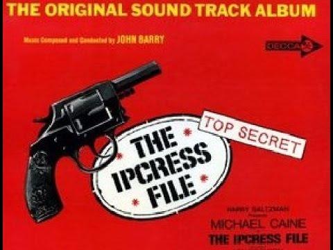 """""""The Ipcress File"""" John Barry FULL VINYL SOUNDTRACK ALBUM 1965 STEREO"""