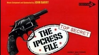 """The Ipcress File"" John Barry FULL VINYL SOUNDTRACK ALBUM 1965 STEREO"