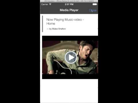 Mobile Media Explorer App Demo