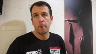 JOE GALLAGHER REACTS TO ANTHONY CROLLA'S DEFEAT TO JORGE LINARES IN MANCHESTER. - POST FIGHT