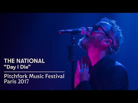 """The National   """"Day I Die""""   Pitchfork Music Festival Paris 2017"""