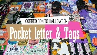 Pocket letter de Halloween   Correo bonito   Yoltzin handmade