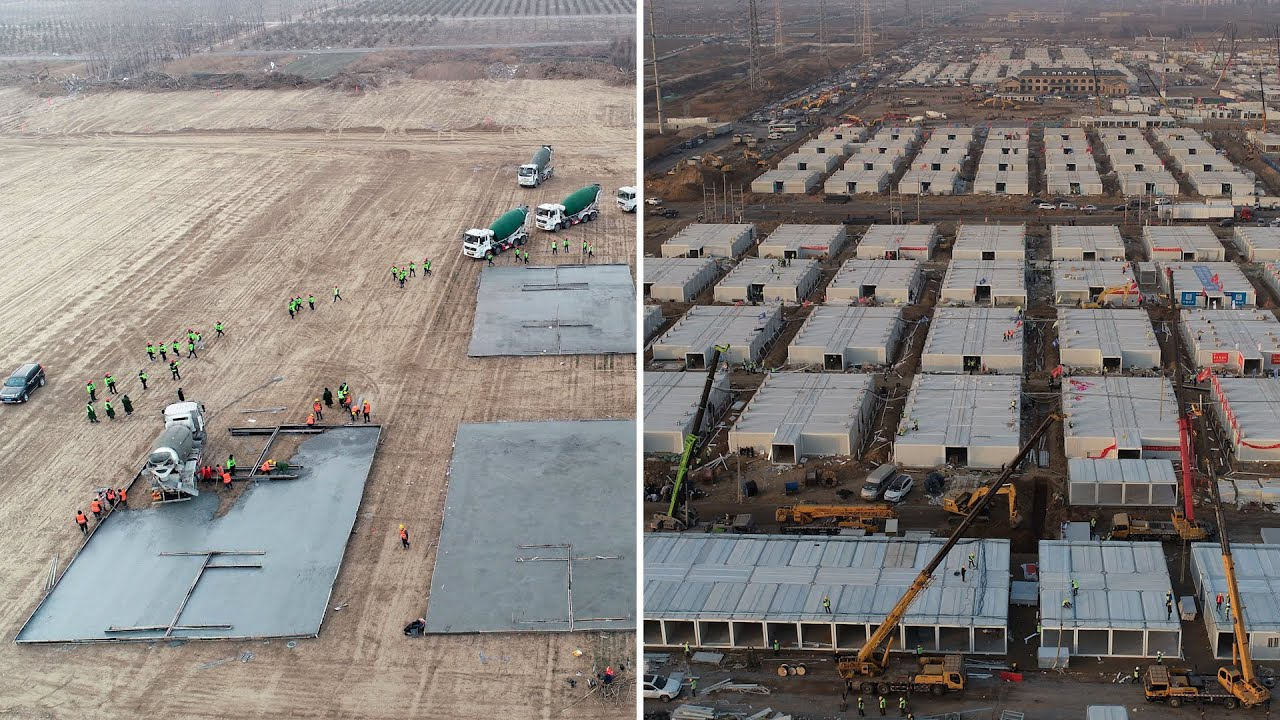 China's new concentration camps built in days