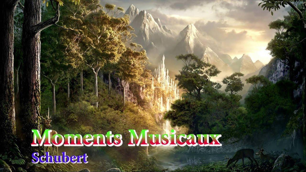 Schubert   Moments Musicaux Piano