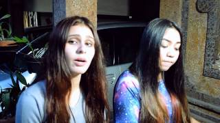 Wiz Khalifa - See You Again ft. Charlie Puth (Cover by Jessica Bennett ft. Astrid Caecilia)