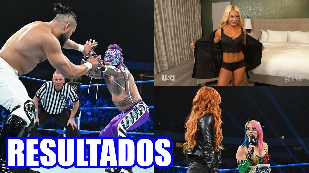 RESULTADOS DE WWE SMACKDOWN LIVE 15 DE ENERO DE 2019