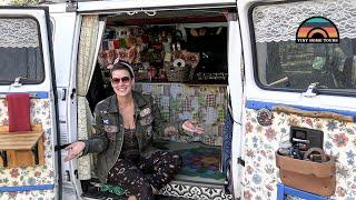 Her $6k DIY Caṁper Van - Finding Mental Well-Being On The Road